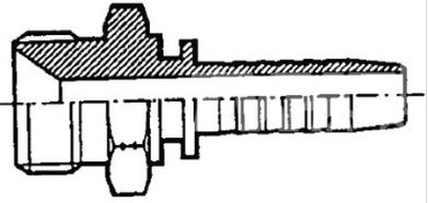 17.1 Hydraulic crimp fitting
